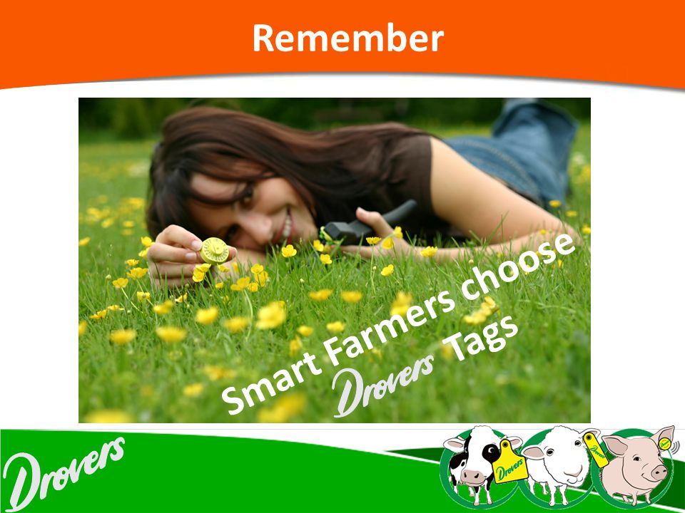 Remember Smart Farmers choose Tags