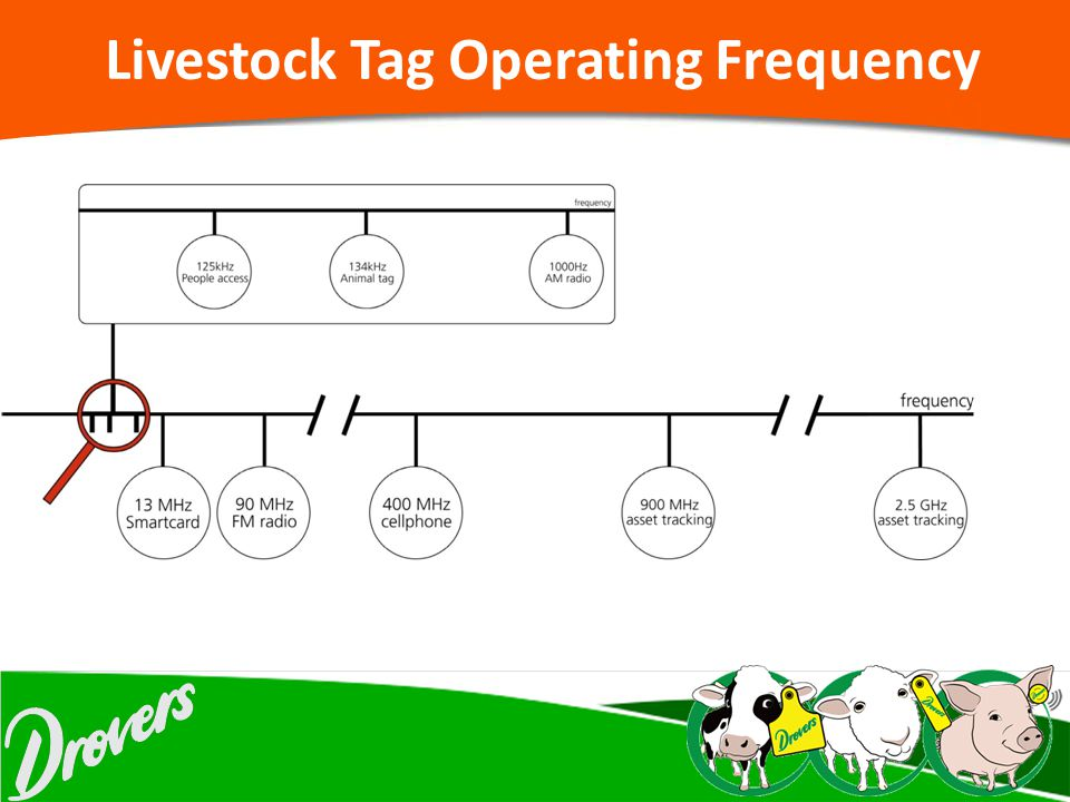 Livestock Tag Operating Frequency