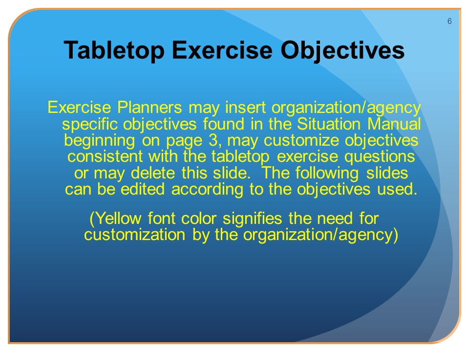 2013 phase iii tabletop exercise ppt video online download rh slideplayer com Tabletop Exercise Icon Tabletop Exercise Pilates