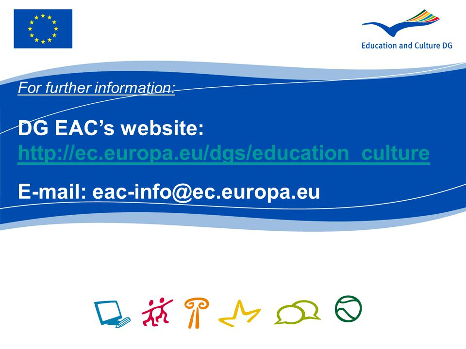 DG EAC's website: