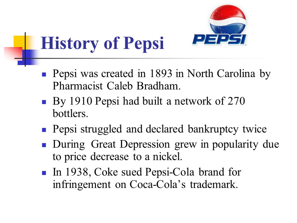 Cola Wars Continue: Coke and Pepsi in ppt video online download