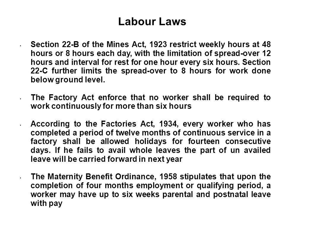 The limitation period for labor disputes