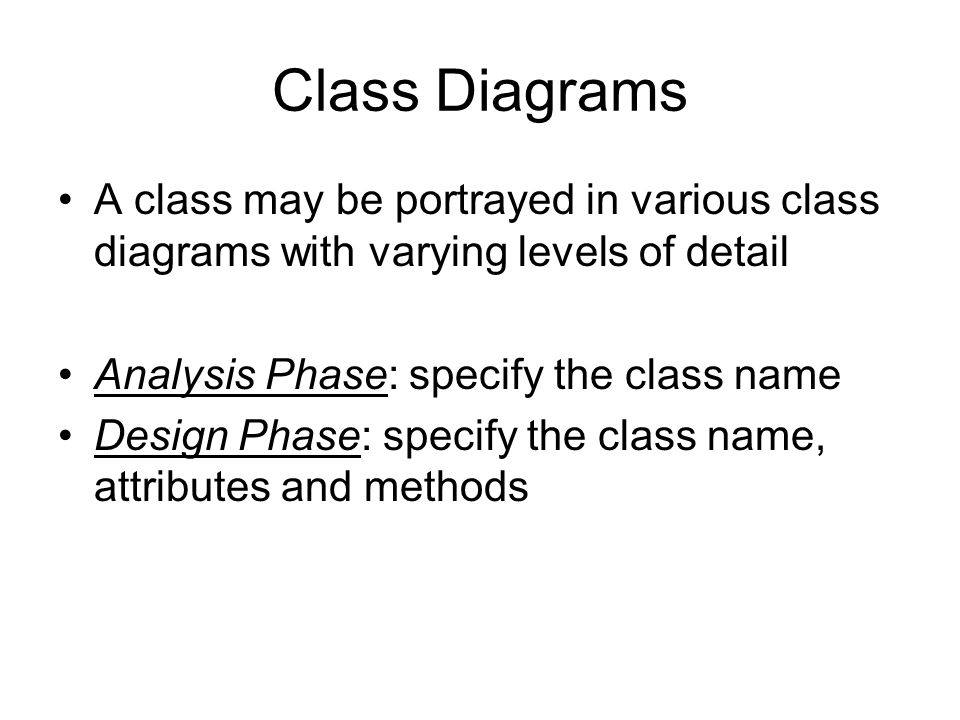 Ch 12 object oriented analysis ppt video online download 18 class ccuart Choice Image