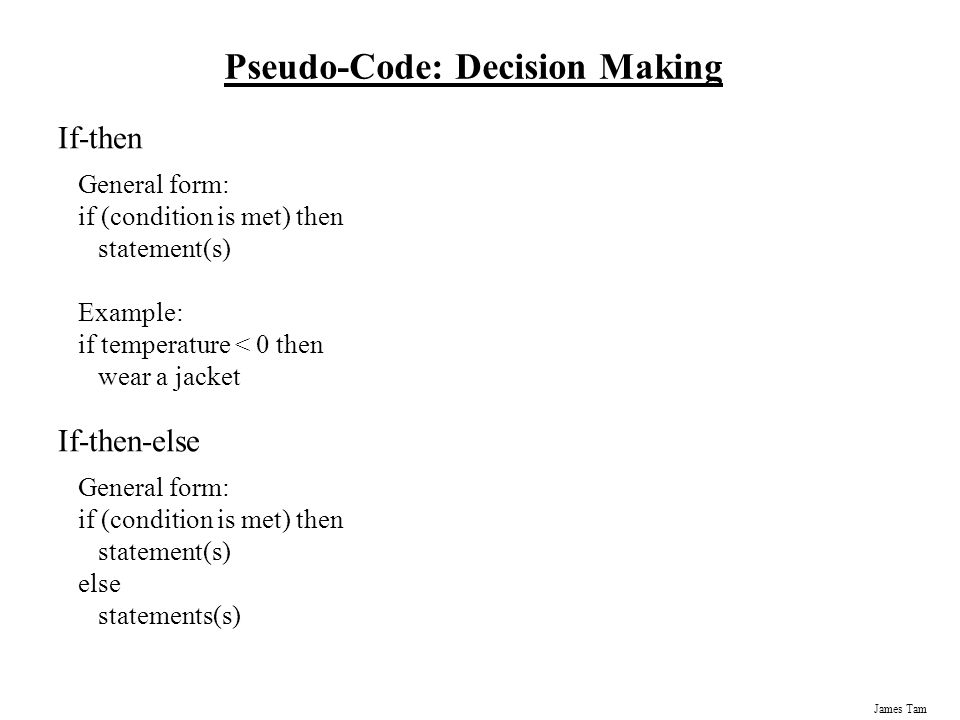 4 types of pseudocodes Algorithms - lecture 1 4 properties an algorithm should have • generality • finiteness • non-ambiguity • efficiency.