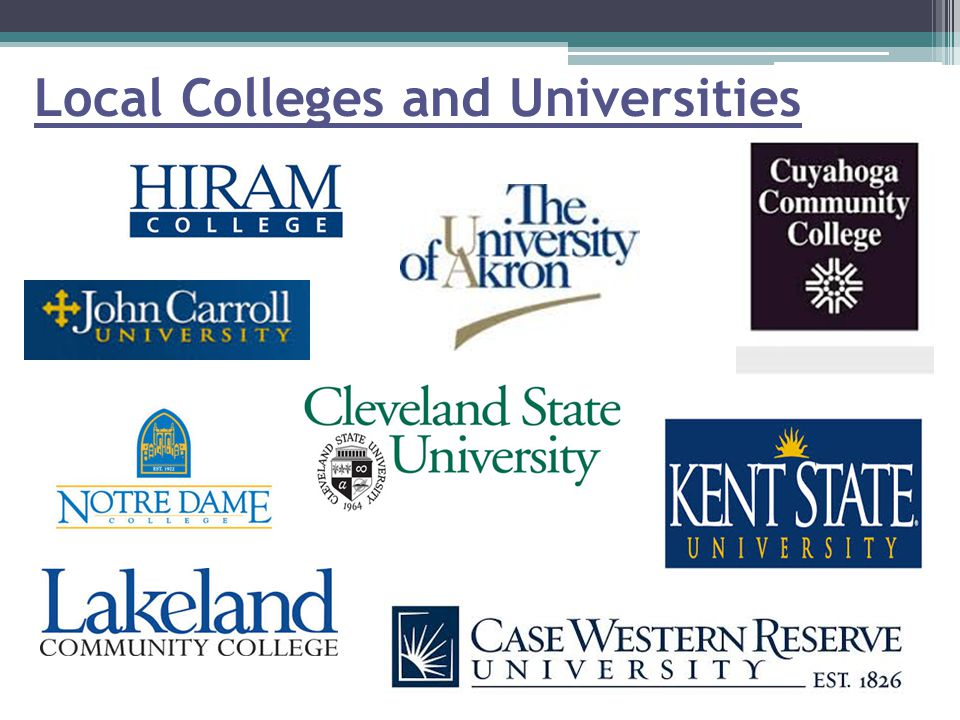 Local Colleges and Universities