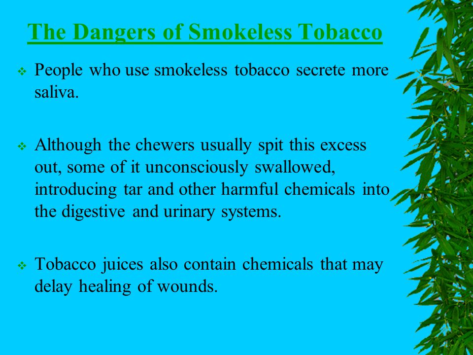 Tobacco Use – A High Risk Behavior Chapter 24 – Lesson 1