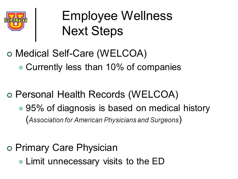 Employee Wellness Next Steps