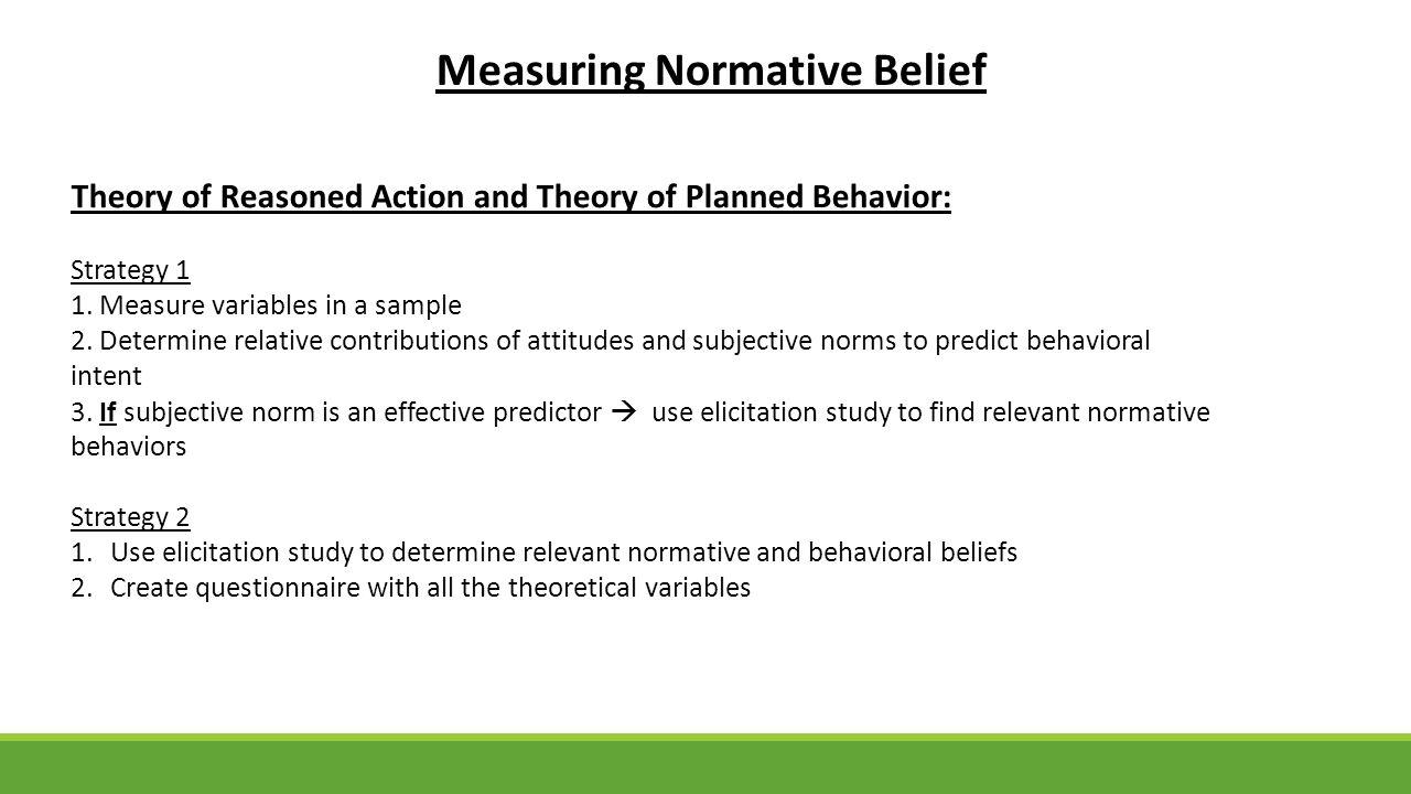 behavioral beliefs