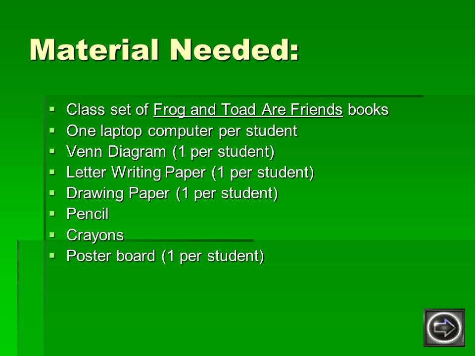 Frog And Toad Are Friends Ppt Video Online Download