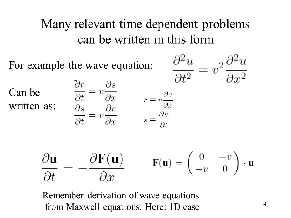 Numerical Integration of Partial Differential Equations (PDEs) - ppt