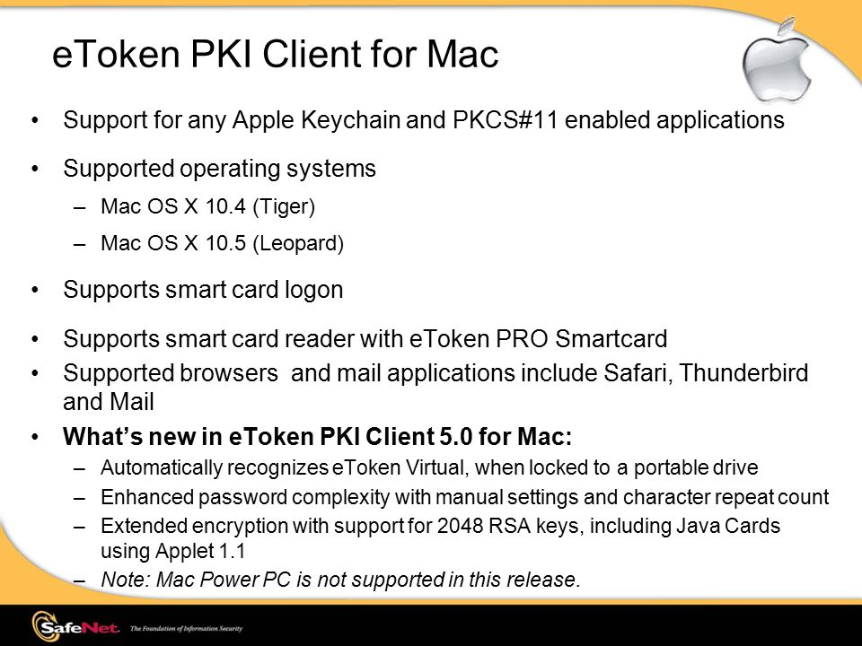 eToken PKI Client Overview - ppt video online download