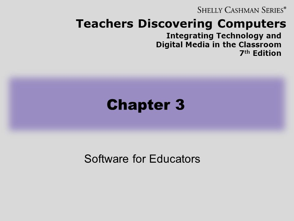 Software for Educators