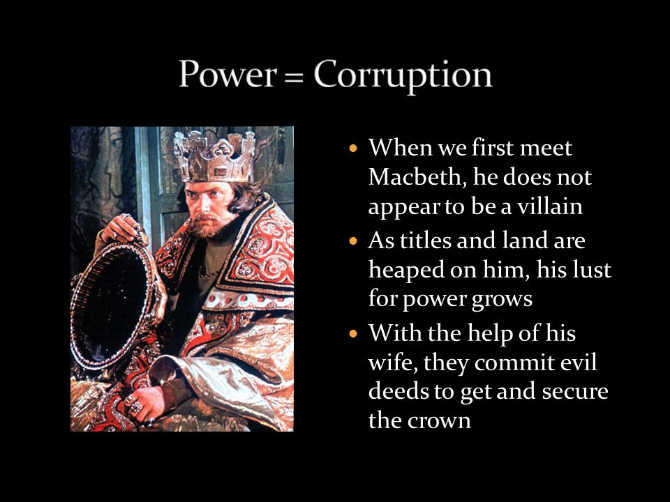 corruption in macbeth article