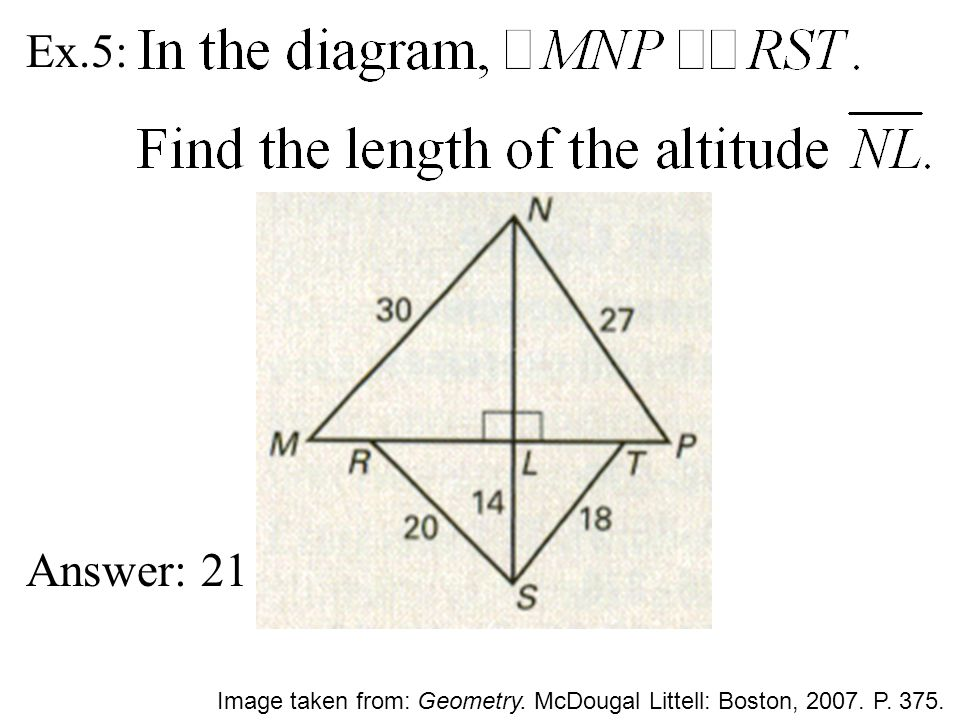 Geometry Chapter 8 83 Similar Polygons Ppt Download