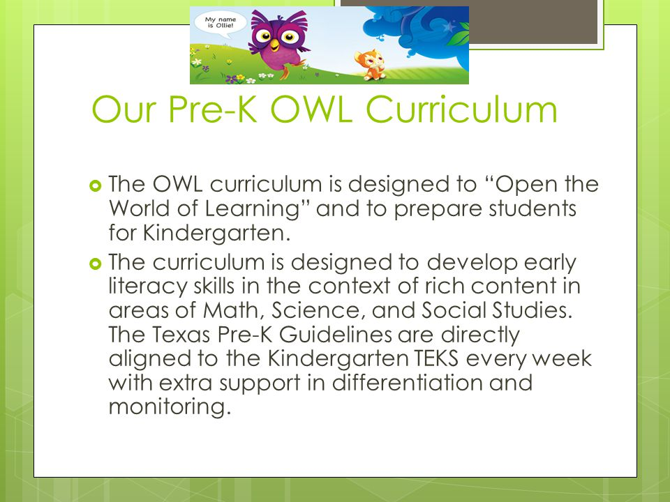 Welcome To Pre K Curriculum Night Ppt Download