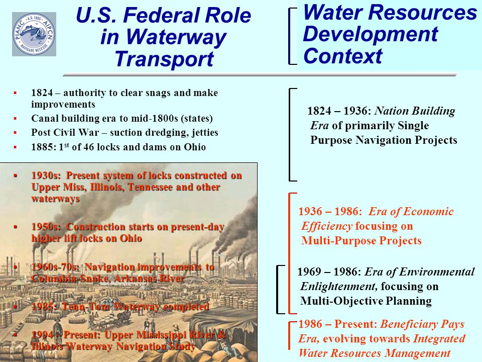 Inland Waterways: A Key Part of the U S  Freight