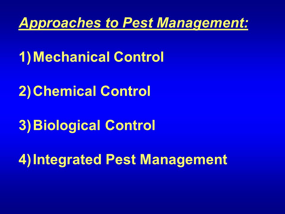 integrated pest management pros and cons