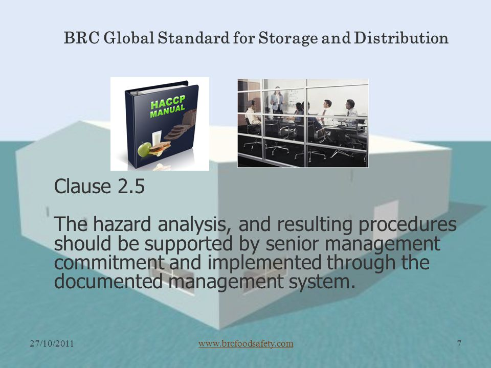 BRC Global Standard for Storage and Distribution