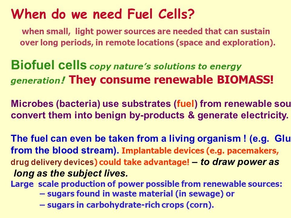 advantages of microbial fuel cell