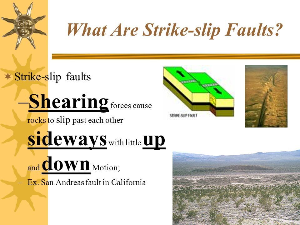 What Are Strike-slip Faults