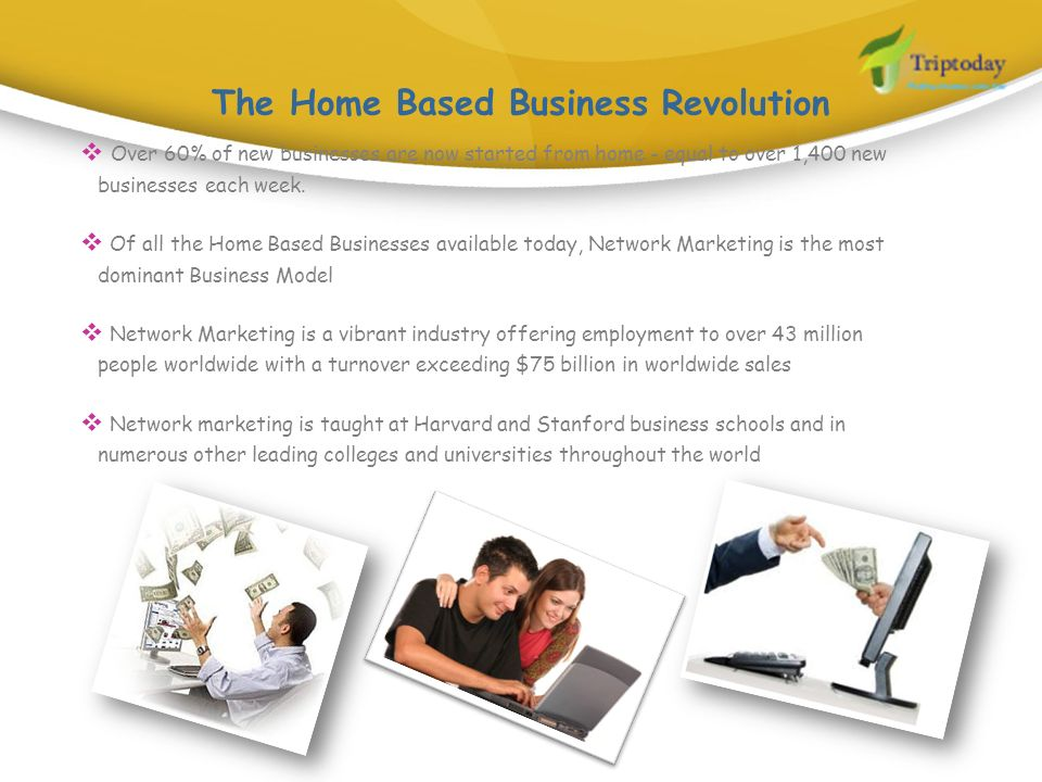 The Home Based Business Revolution