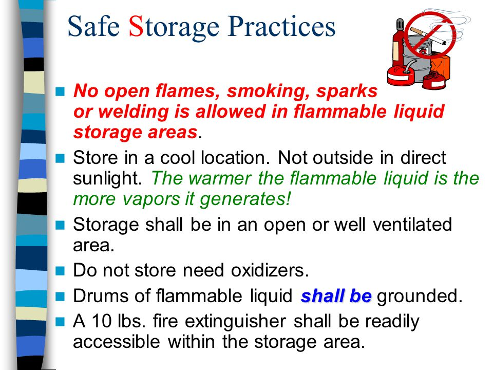 Do Flammable Liquid Cabinets Need To Be Grounded