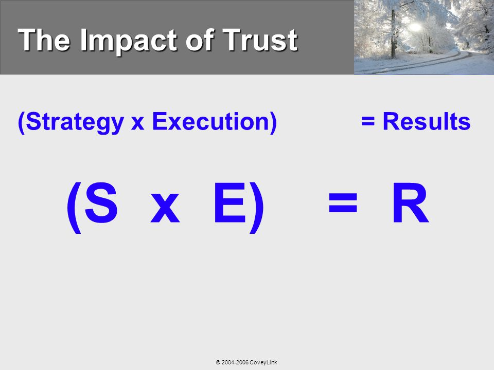 Leading at the Speed of Trust® - ppt video online download