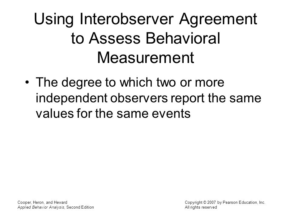 Chapter 5 Improving And Assessing The Quality Of Behavioral