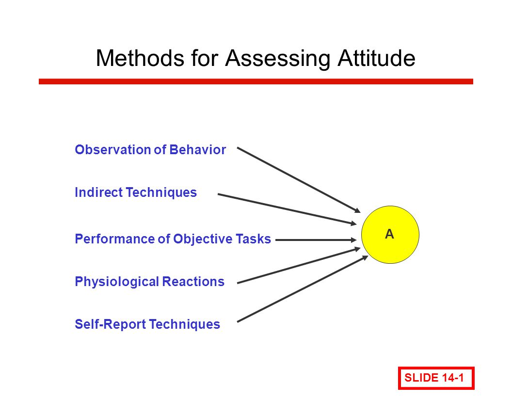 Methods for Assessing Attitude