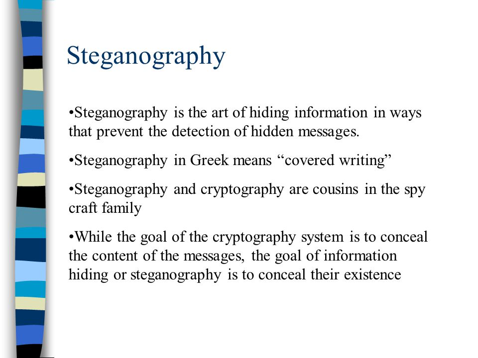 social steganography examples