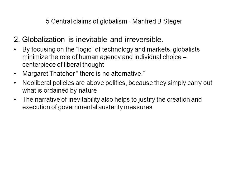 manfred b steger globalization pdf