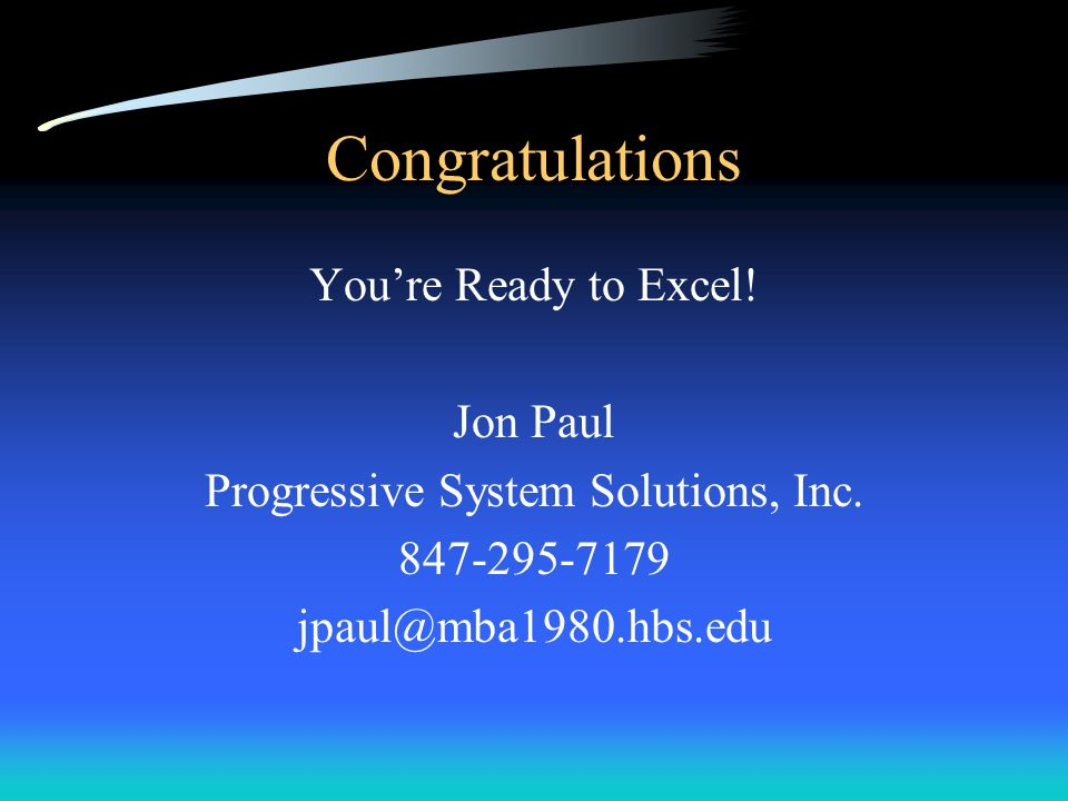 Progressive System Solutions, Inc.