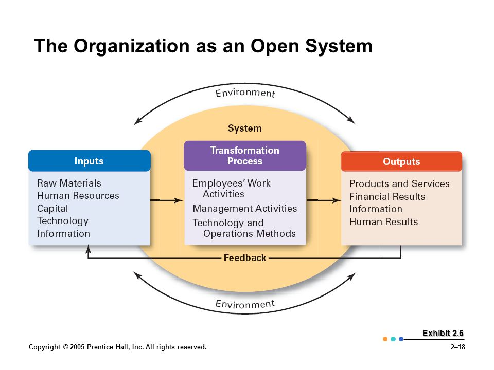 The Organization as an Open System