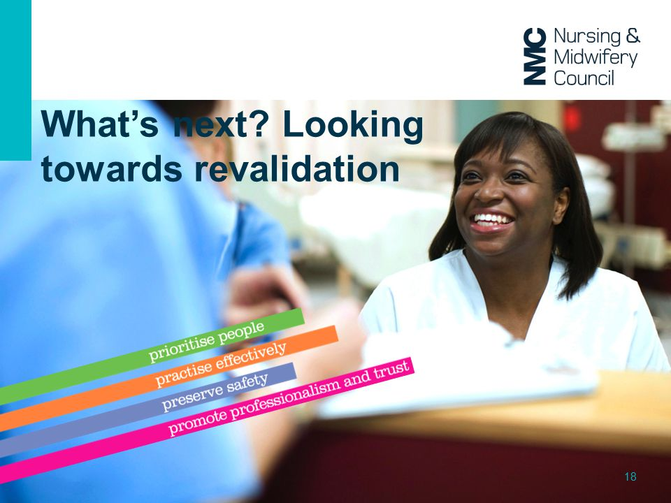 What's next Looking towards revalidation