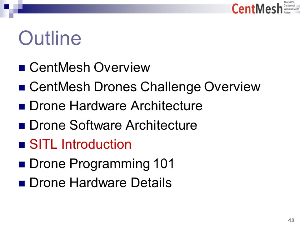 CentMesh Drones Challenge 2014 Tutorial - ppt download