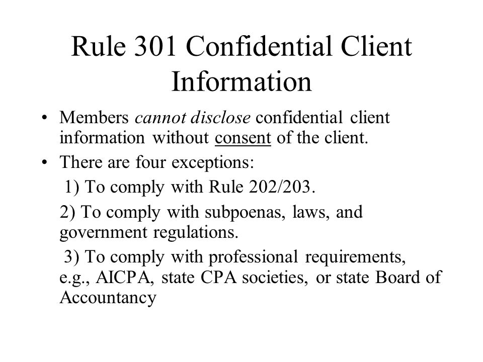 aicpa code of professional conduct 6 principles
