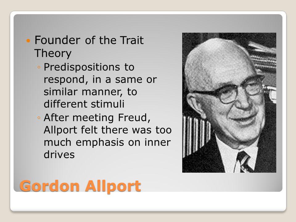 allport psychology