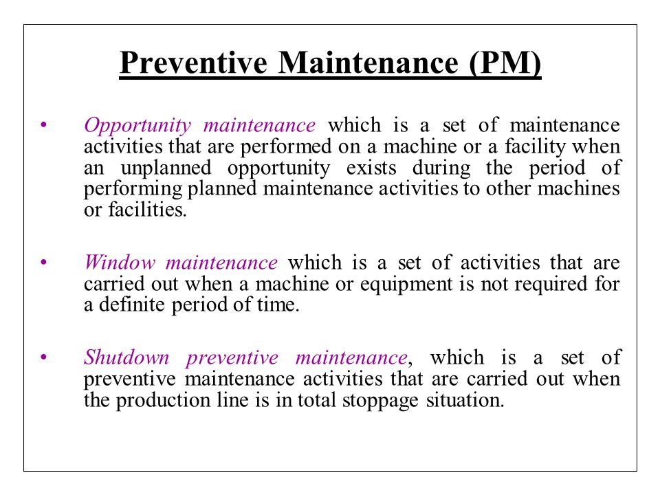 Electrical preventive maintenance ppt