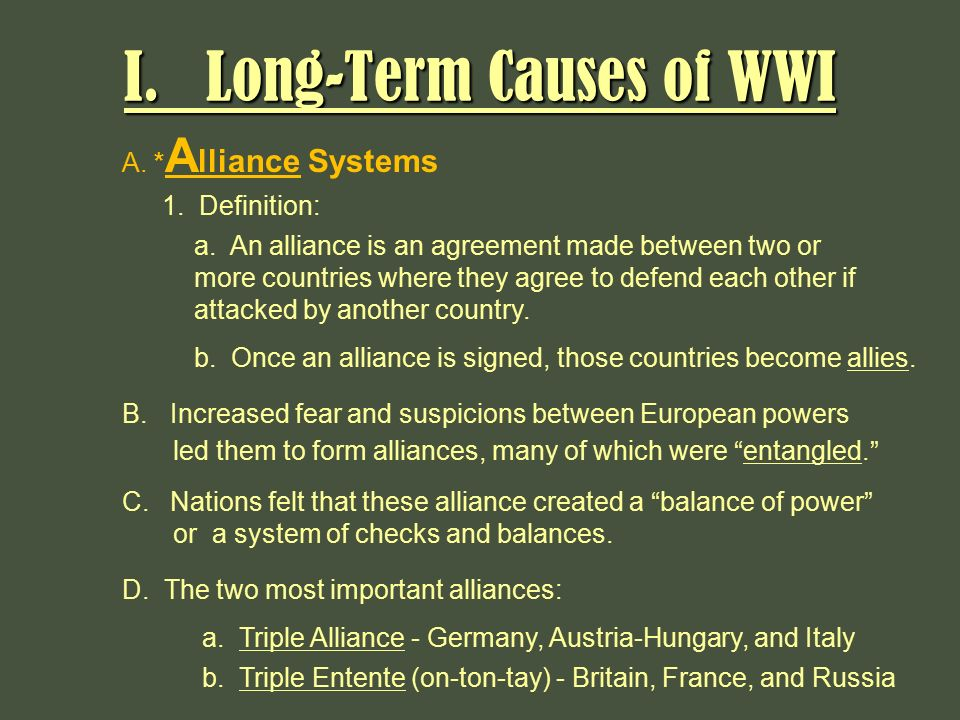 the top 5 causes of world war i thoughtco - 720×540