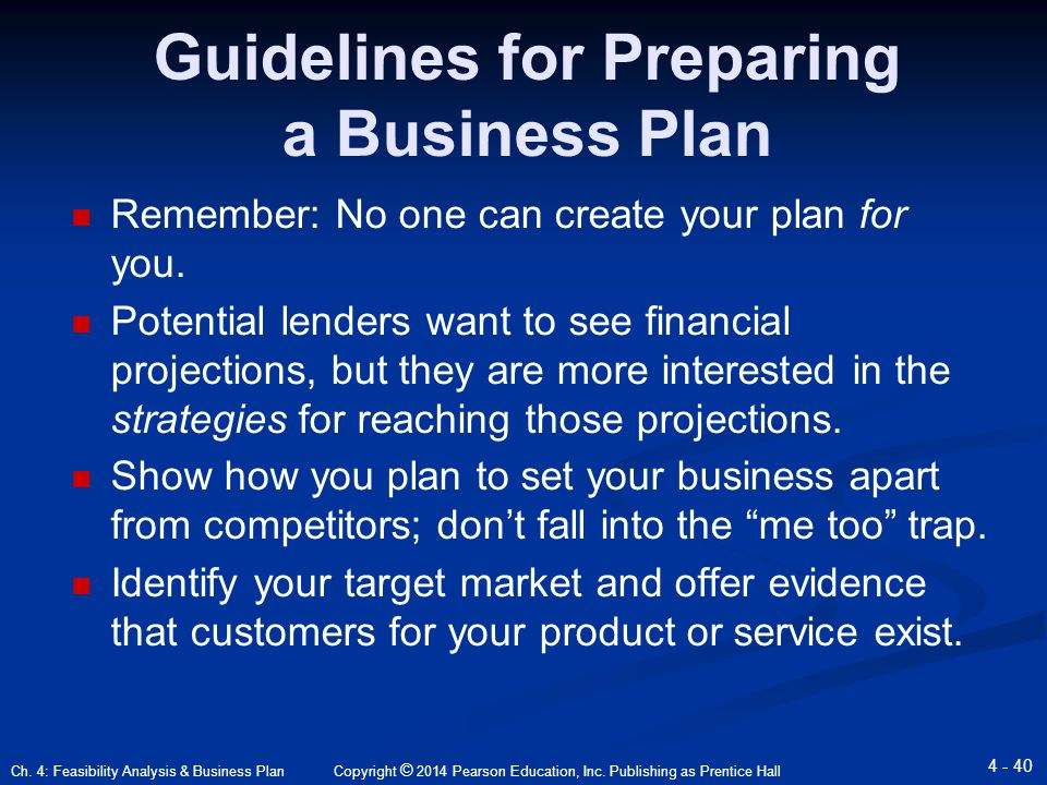 Ch 4 Feasibility Analysis Business Plan Ppt Download