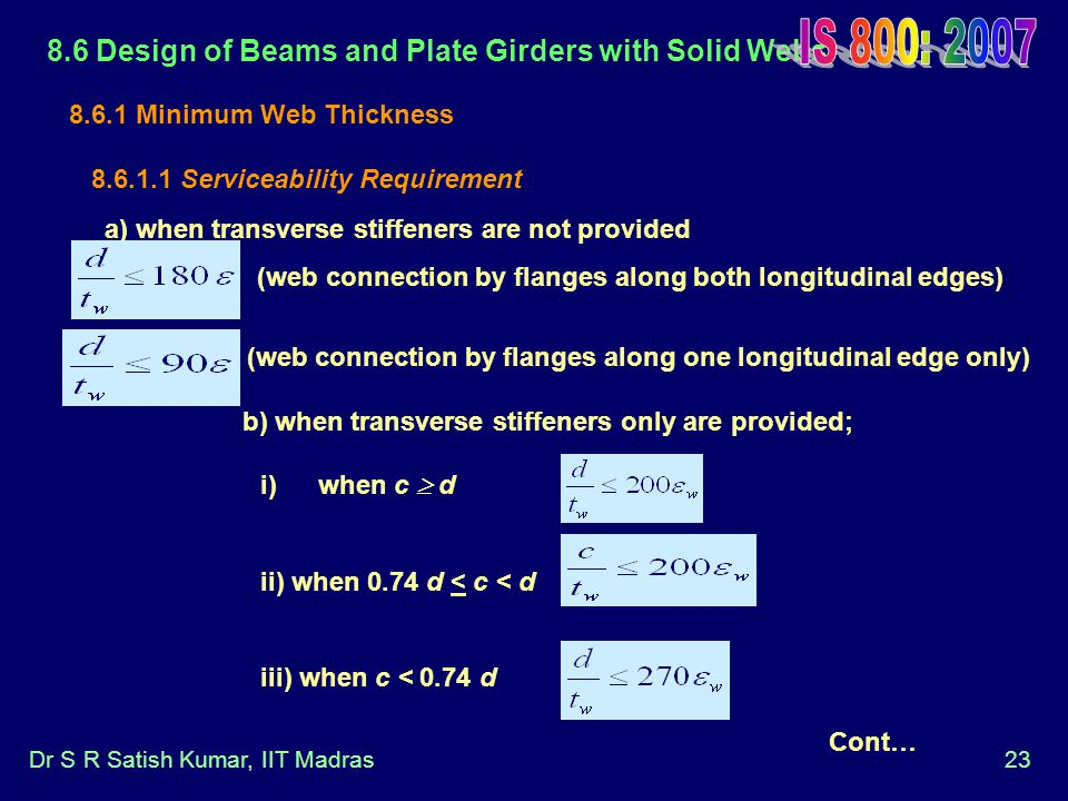 (web connection by flanges along one longitudinal edge only)