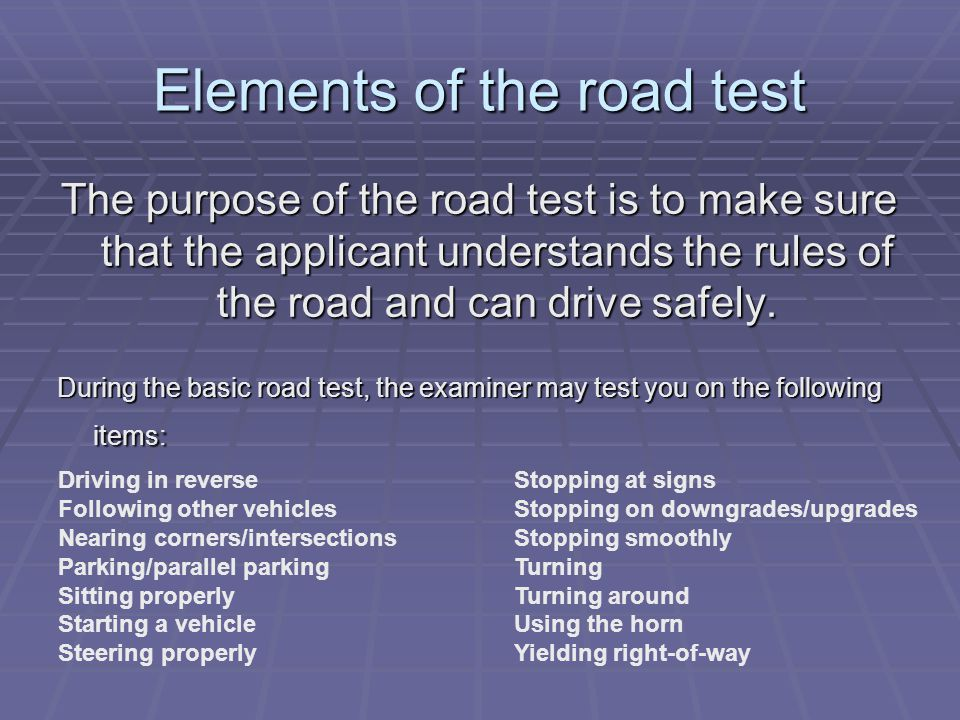 Reschedule Road Test Nj >> New Jersey Driver Testing Ppt Video Online Download