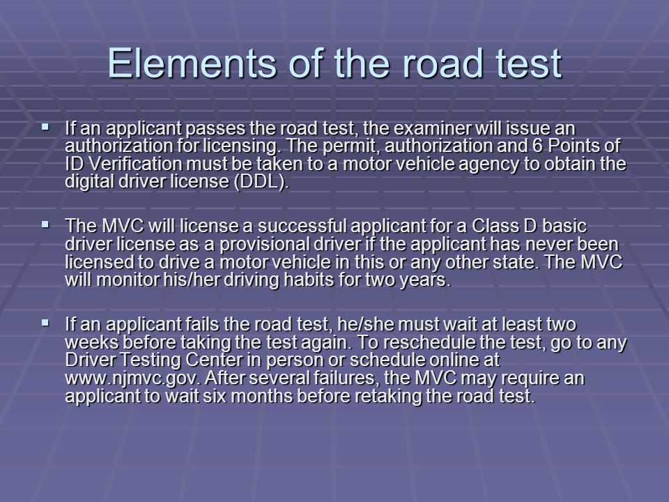 New Jersey Driver Testing - ppt video online download