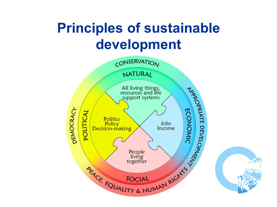 Principles of sustainable development