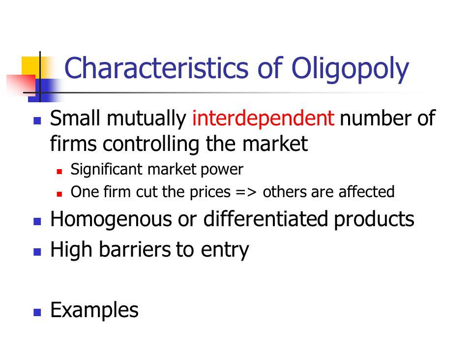 oligopoly examples in australia