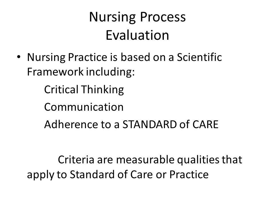 Effective Rhetorical Tips for Repetition Nursing+Process+Evaluation