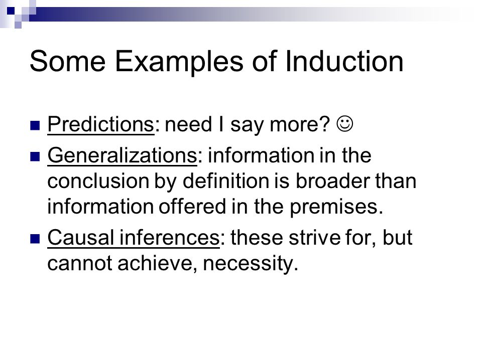 Deduction And Induction Ppt Video Online Download