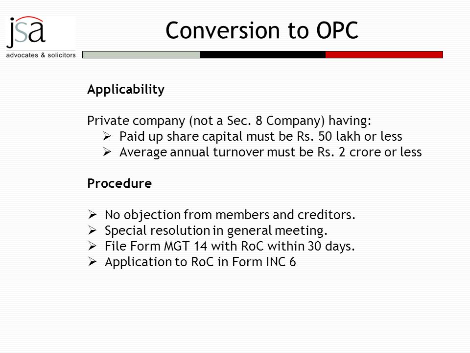LLP / CSR / Foreign Company - ppt download