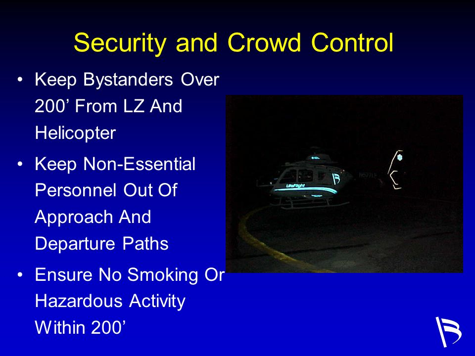 Security and Crowd Control