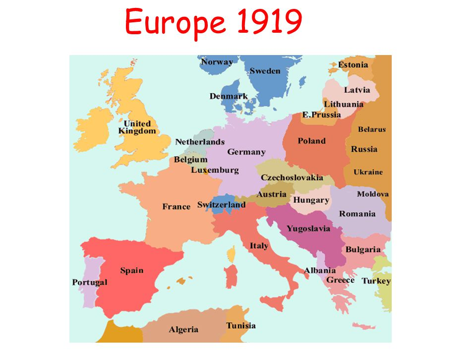 Map Of Germany 1919.Treaty Of Versailles Ppt Video Online Download